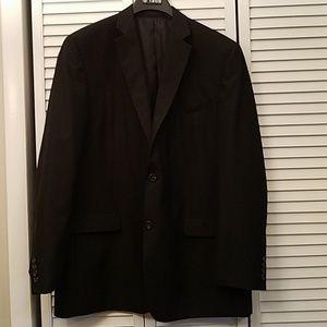 Izod Jacket Black Stripe